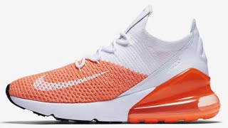 "Nike Air Max 270 Flyknit ""Crimson Pulse""