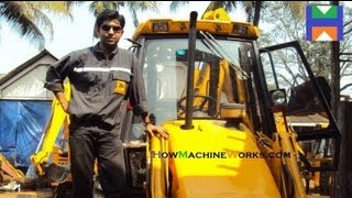 How to Drive n Operate a JCB BHL Machine (Must Watch) ✔