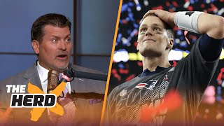 Tony Dungy ranks Tom Brady #6 QB since 1978 - Mark Schlereth thinks that's 'ridiculous' | THE HERD