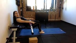 Barbell Hip Thrust (full explanation) | Beth Lavis Fitness