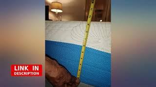 PrimaSleep Wave Gel Infused Memory Foam Mattress, 10'' H, Queen, Blue revieww