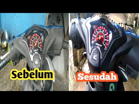Download Cara menghitamkan Body Kasar/Dashboard motor low buget