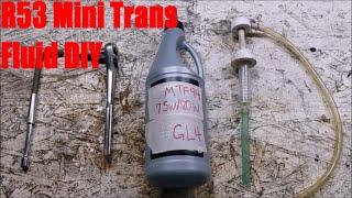 homepage tile video photo for R53 Mini Cooper S Transmission Fluid Change DIY