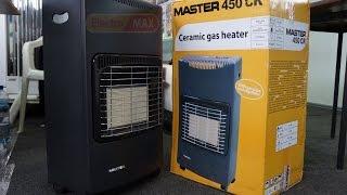 Рекомендации для работы с газовым обогревателем MASTER 450 CR