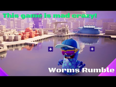 This Game is Insane! - Worms Rumble |