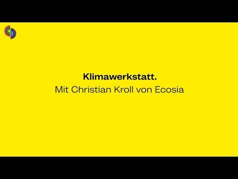 M4F Klimawerkstatt mit Christian Kroll von ECOSIA