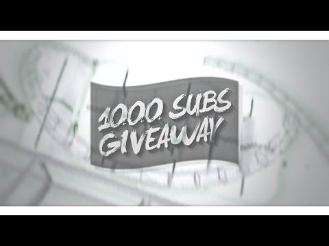 1000 SUBS !!! ( GIVEAWAY ) Thanks ❤️ - Prestige Intros