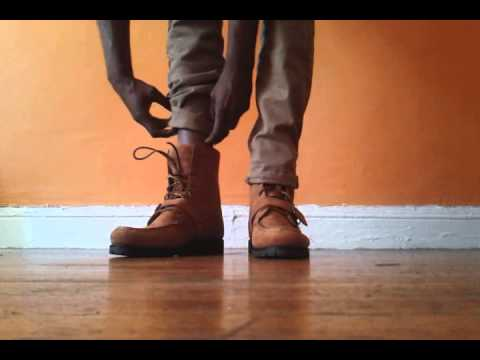 Polo Ranger Boots Tan On Feet Youtube