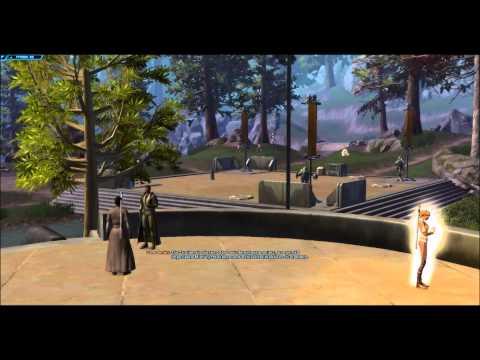 Let´s Play Star Wars : The Old Republik #3 : Wir lernen Qyzen Fess