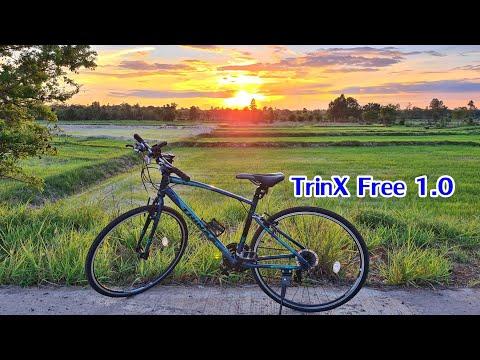 Cycling [EP1] สั่งซื้อจักรยานไฮบริด Trinx Free 1.0 ไว้ใช้งาน ออกกำลังกาย