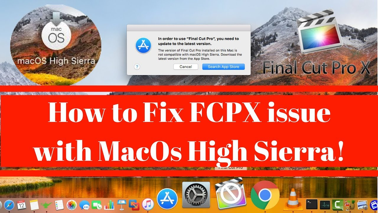 Symptom #2: A function stopped working, or is performing strangely, or FCP X crashes.