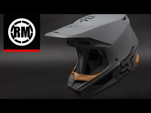 Fox Racing V1 MVRS Motocross Helmet | 2019