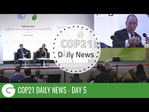 COP21 Daily News: Billionaires on the Scene at Paris Climate Conference
