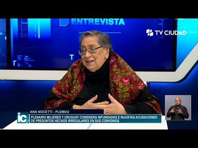Informe Capital | Entrevista a Ana Nocetti - PLEMUU