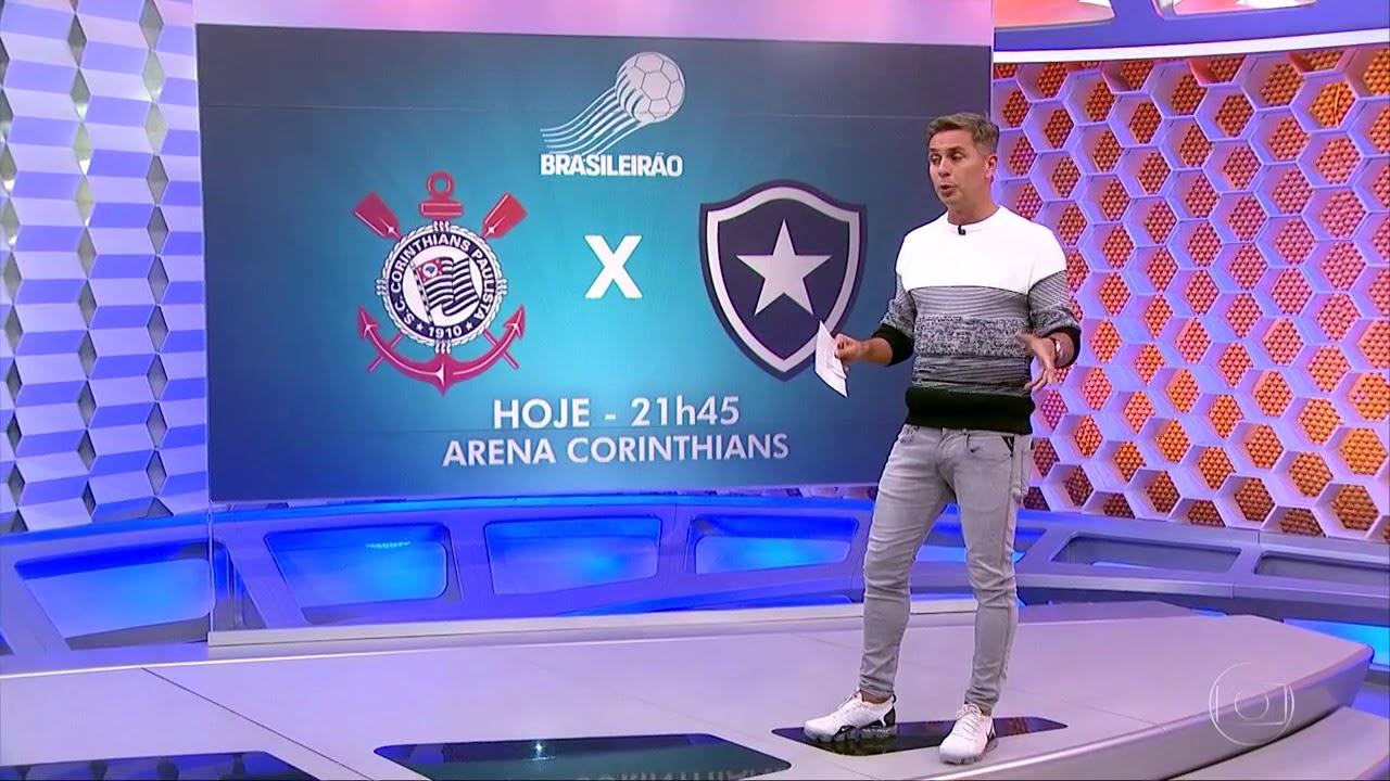 Globo Esporte Sp Corinthians X Botafogo Preparação Desse Jogo Hoje 18072018