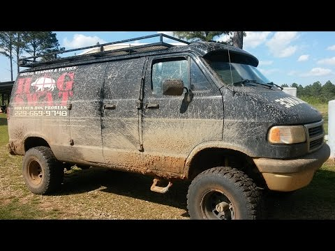Hunt hogs from a climate-controlled 4×4 van
