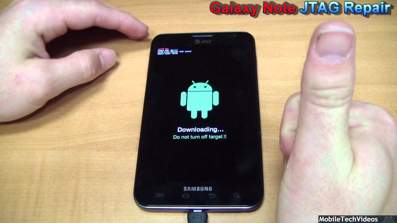 Samsung Galaxy Note - JTAG Brick Repair Service (Debricking/Unbrick