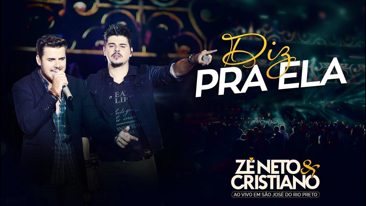 Zé Neto e Cristiano - Diz pra ela (Ainda Te Amo) - (DVD Ao vivo em São José do Rio Preto) #1