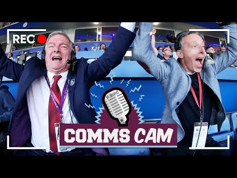 EXCITING 4 GOALS |  COMMS CAM |  Leicester vs Burnley