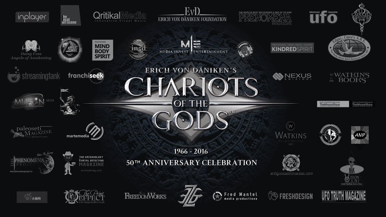 Erich von Daniken Brilliant Chariots of the Gods 50th Anniversary Presentation