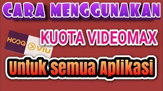 Cara Menggunakan Kuota Video Max Telkomsel All Aplikasi (ANONYTUN UNLIMITED PRO)
