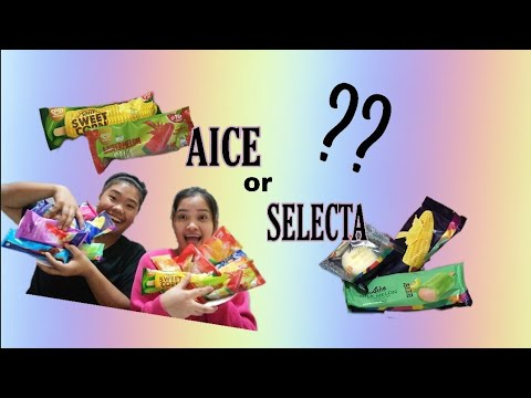 AICE ICE CREAM OR SELECTA ICE CREAM Ft. MAICA AROZ || REVIEW || AIAH AGAN