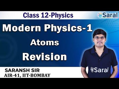 Modern Physics-Atoms Revision- Physics Class 12, JEE, NEET