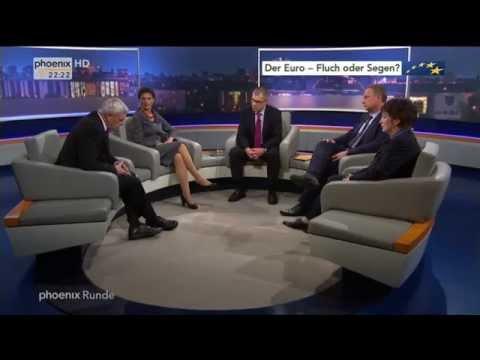 Der Euro - Fluch oder Segen? - phoenix Runde vom 07.05.2014