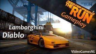 need for speed the run   lamborghini diablo sv gameplay   italian edition car pack dlc hd