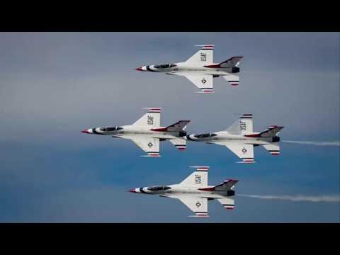 Breaking: Thunderbird F-16 crashes flips at Dayton Air Show practice (Video)