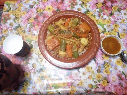 recette-de-couscous-marocain-aux-légumes-كسكس-بالبلبولة-الشعير-والخضر-بطريقة-تقليدية-صحي-ولذيذ