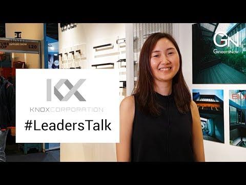 #LeadersTalk with KNOX Corporation, Jill Li