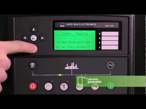 Caterpillar Wiring Diagram How To Set The Date And Time On Your Deep Sea 7220 Digital