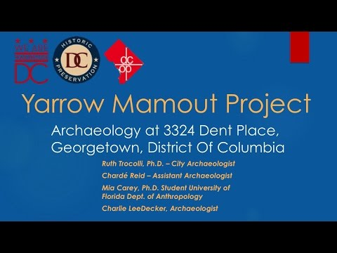 The Yarrow Mamout Project at the History Conference