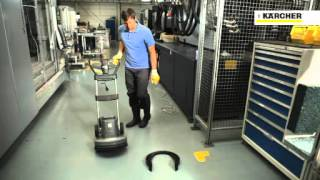 Karcher BDS 43/180 C Full Zemin Temizleme ve Cilalama Makinesi Video