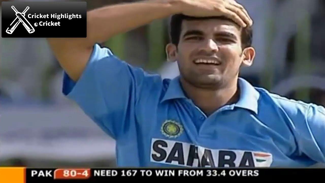 India vs Pakistan 3rd ODI 2004 Samsung Cup Cricket Highlights