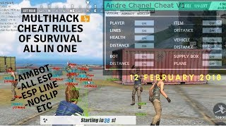 NEW RELEASE MULTI HACK RULES OF SURVIVAL AIMBOT|ESP|NOCLIP ALL IN ONE