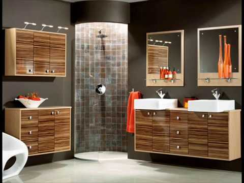 Fitted bathroom furniture designs