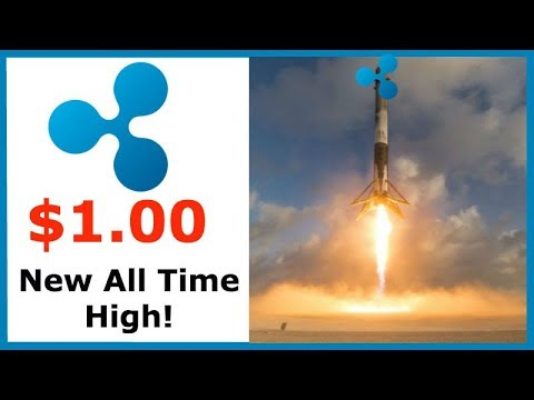 Ripple XRP Surges Past $1.00 - What Now Haters? - Updated 2018 Price Prediction