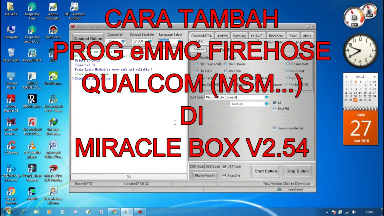 HOW TO ADD PROG eMMC FIREHOSE QUALCOM IN MIRACLE BOX