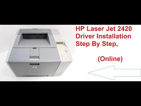 HP LASERJET 2420 UPD PCL 6 DRIVER FOR WINDOWS 10
