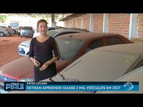 Pátio Lotado: Detran apreende quase 2 mil veículos em 2017