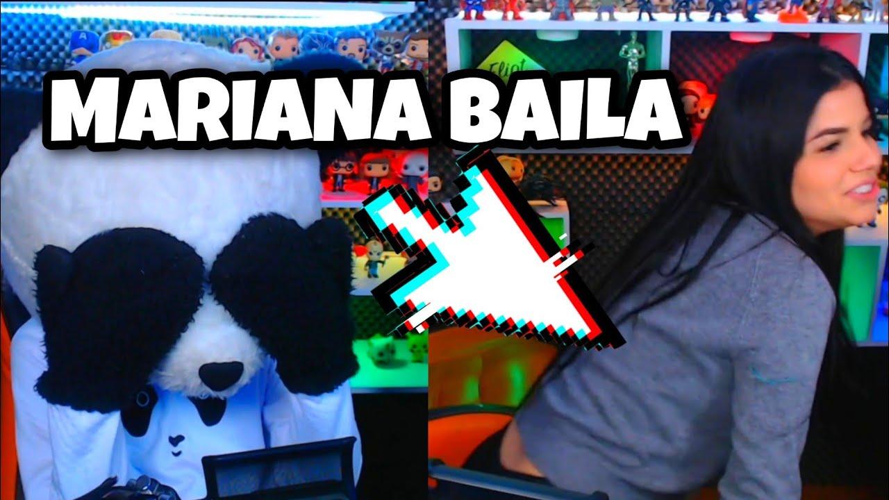 PANDARIANA NO ES REAL! *Mariana baila y juega hoy con panda en twitch* Yolo Aventuras