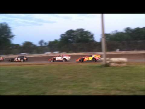 Lafayette County Speedway IMCA Modifieds June 30 2