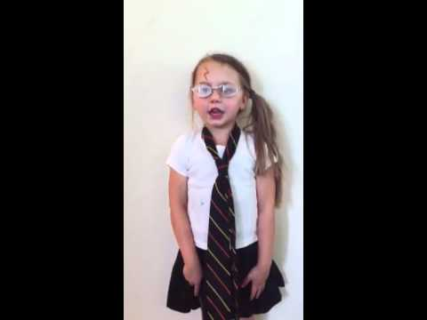 5 year old singing 'Harry Potter in 99 Seconds'