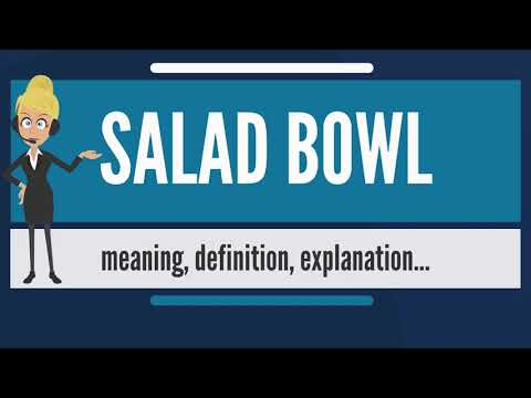 What is SALAD BOWL? What does SALAD BOWL mean? SALAD BOWL meaning, definition & explanation