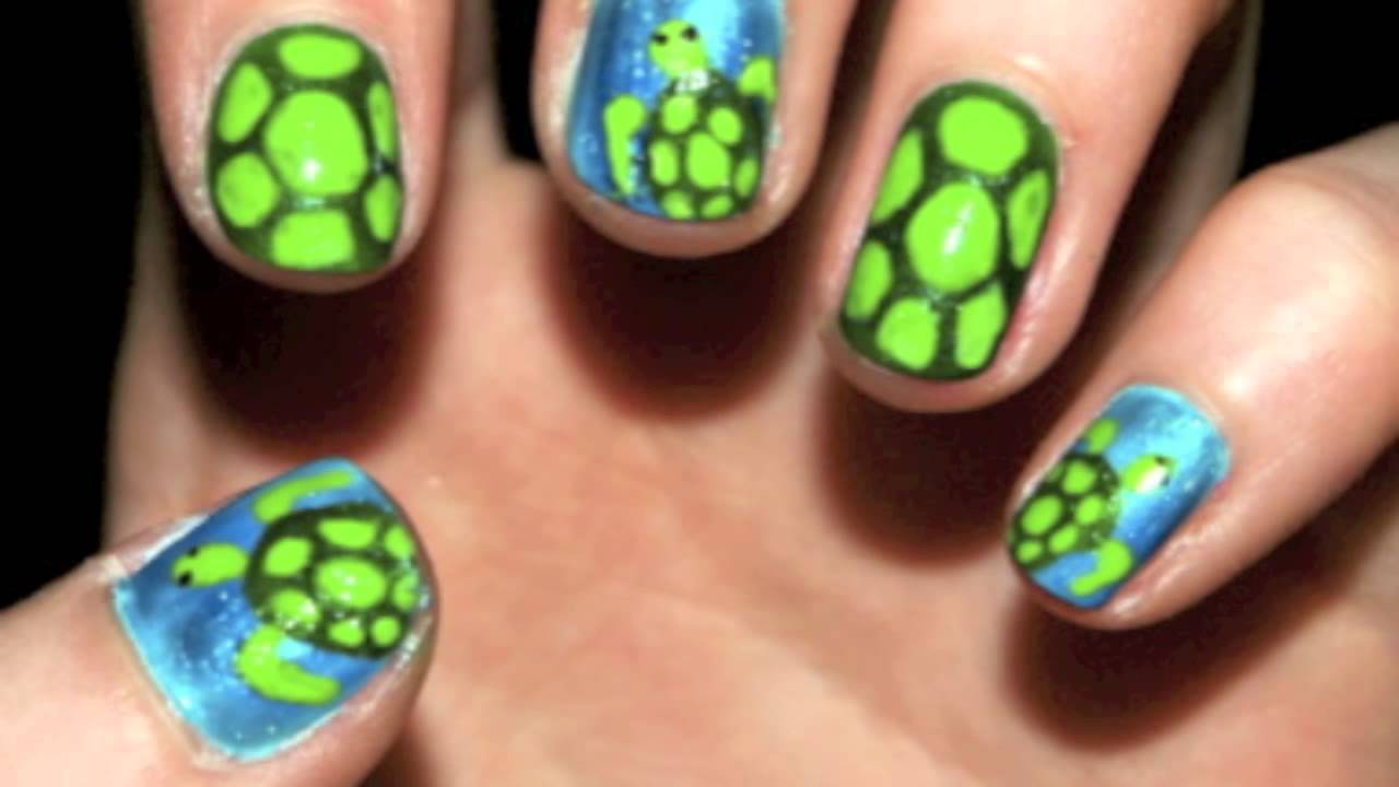 Turtle nails youtube prinsesfo Gallery