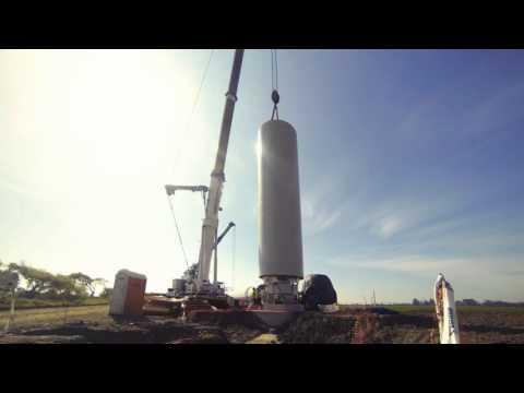 Cuel Wind Farm, BioBío Region - Chile