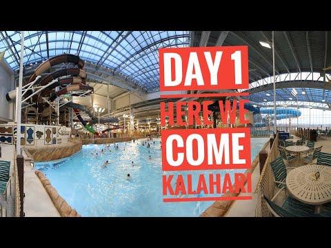 day-1-heading-to-kalahari-waterpark-&-resort-in-poconos-pa