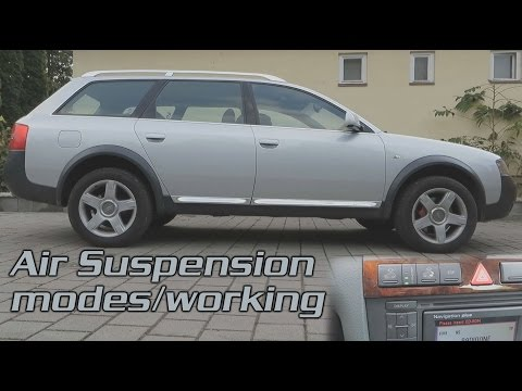 2003 Audi Allroad Quattro 2.5 TDI C5 - Air Suspension modes/working